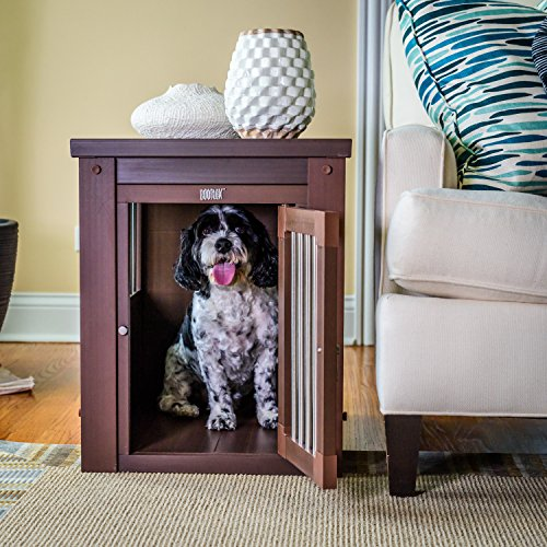 What to look for when choosing indoor end table dog crate furniture