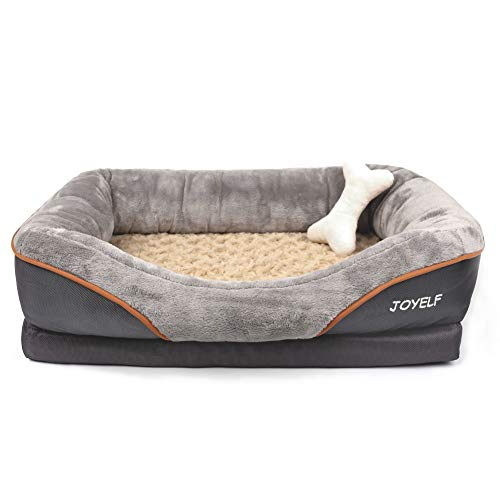 JOYELF orthopedic puppy bed quiet calm rest place