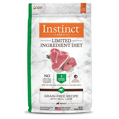 Zignature alternative Nature's Variety Instinct raw limited ingredient diet grain free recipe