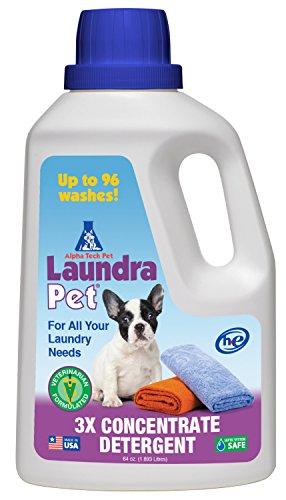 Pet safe laundry detergent wash dog bed chew toys tips tricks