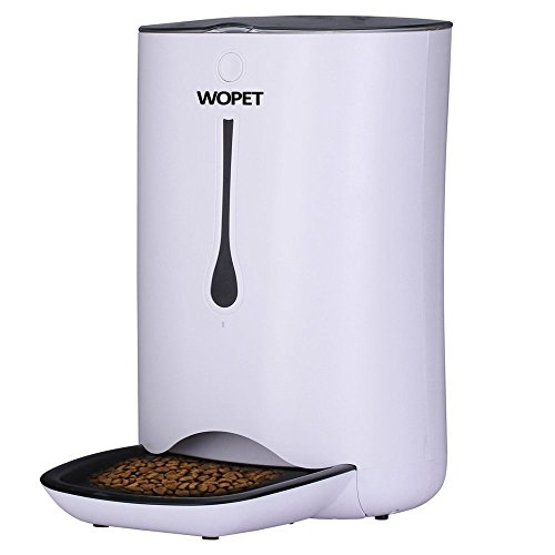 WOPET automatic dog feeder for giving puppy snacks while away at work