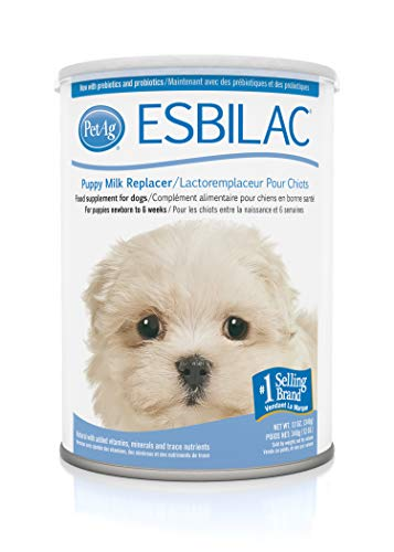 Esbilac puppy milk replacer for nutritious puppy gruel weaning dogs