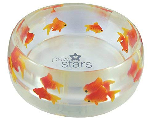 Polyresin Paw Stars scratch chew resistant puppy food water bowl