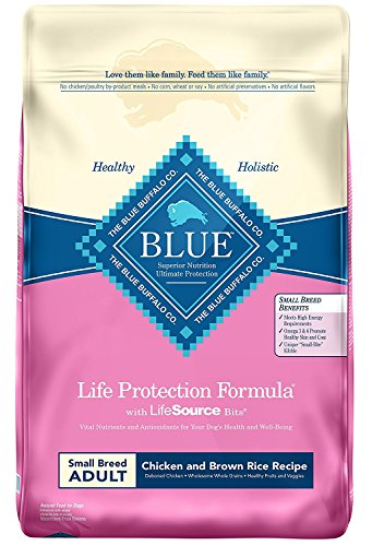 Blue Buffalo largest variety dog food brand small large breed adult puppy grain free