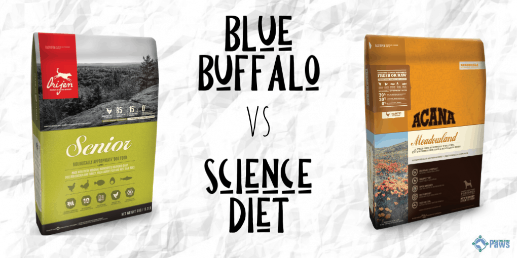 Blue Buffalo vs Science Diet Dry Dog Food Review