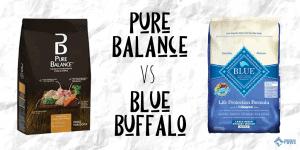 Pure Balance vs Blue Buffalo Dry Dog Food Review