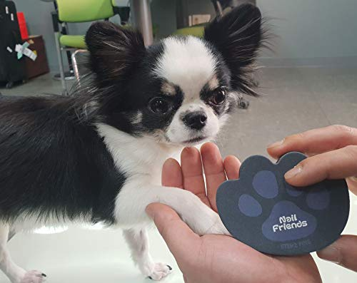 Can you file dog nails friends paw shaped emery board for pets