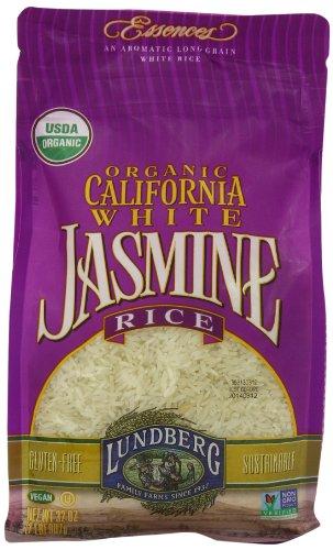 Organic California white Jasmine aromatic rice dog food safety