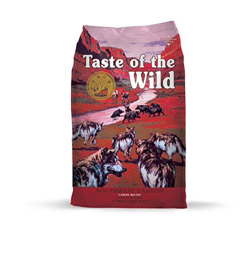 More easily available dog brand Taste of the Wild in stores
