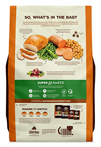Supreme Source dry dog food kibble features ingredients pros cons