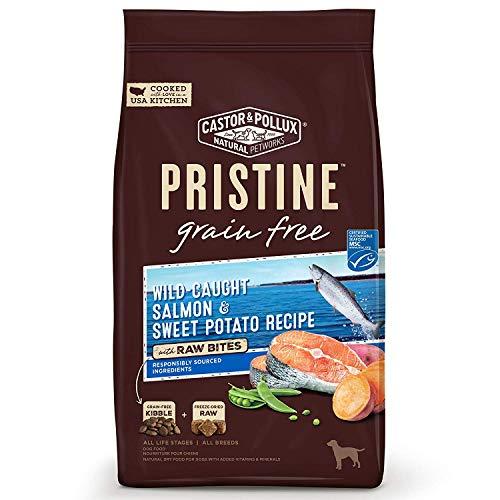 Best organic urinary care dog food Pristine grain free salmon sweet potato