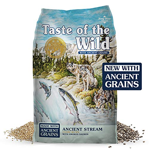 Taste of the wild ancient grains dog food brand review
