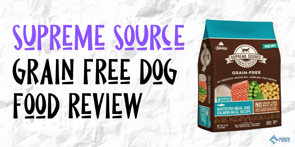 Supreme Source Grain Free Dog Food Review