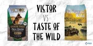 Victor Dog Food vs Taste of the Wild Dry Dog Food Review