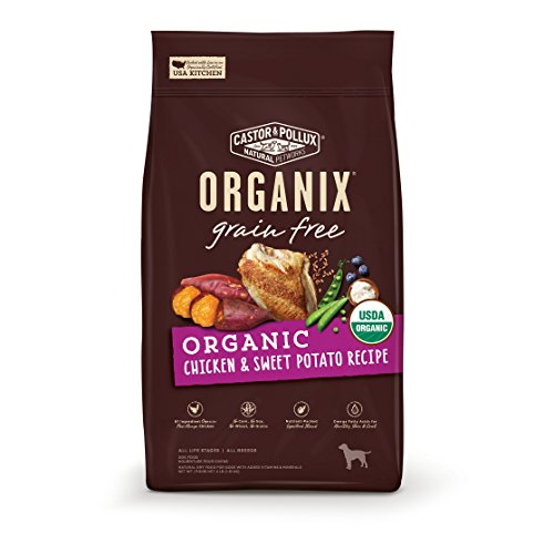 Cator Pollux Organix organic grain free chicken sweet potato recipe