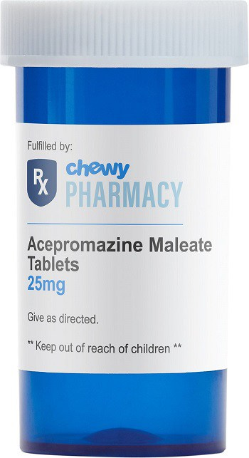 Acepromazine prescription anti anxiety medicine to sedate dog for nail trimming