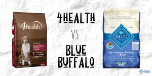 4health Dog Food vs Blue Buffalo Dry Dog Food Review