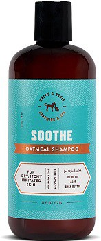 Rocco Roxie Soothe hypoallergenic champoo for dry itchy irritated dog skin