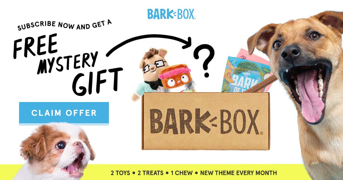 BarkBox Free Gift