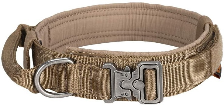 Excellent elite spanker tactical dog collar heavy duty nylon metal buckle tough choice