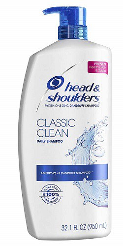 Head and Shoulders dandruff shampoo safe for dogs precautions dangers