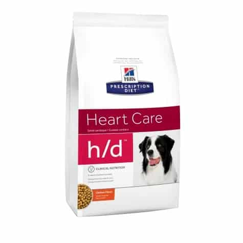 Hills Prescription Diet Heart Care for dogs with heart murmurs