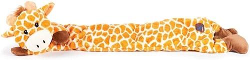 Longidude plush giraffe chew toy long lasting indestructible