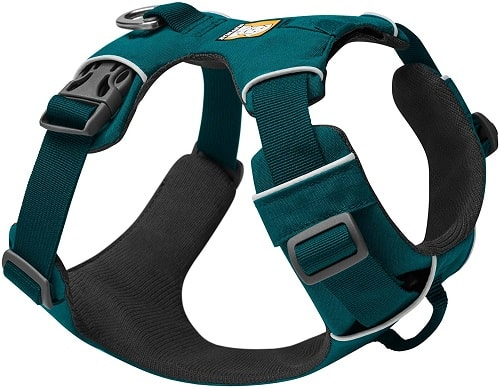 RUFFWEAR Front Range Harness for medium dogs of average height weight