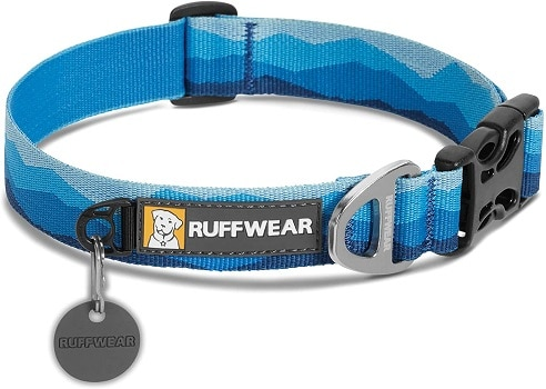 RUFFWEAR best chew proof dog collar for small dogs thin width