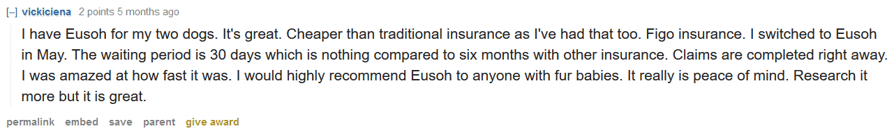 vickiciena Eusoh testimonial from real user cheaper option