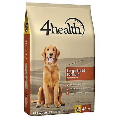 4health dog food brand from Tractor Supply Company review history