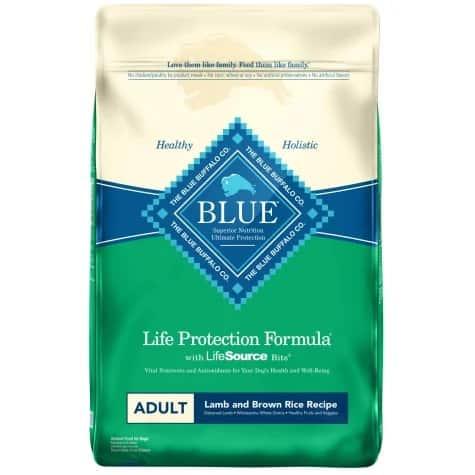 Blue Buffalo dog food brand review Life Protection Formula history pros cons