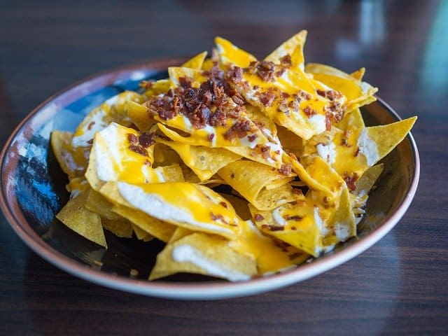 Can dogs eat tortilla chips nachos Mexican food safely