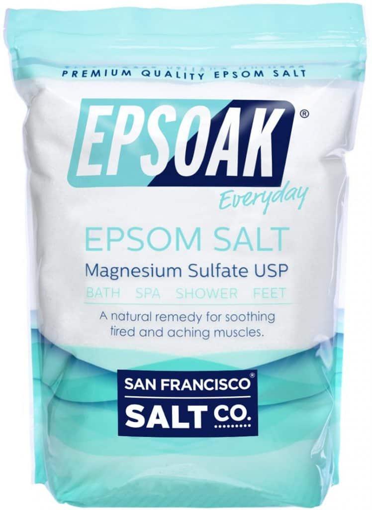 Epsom Salt quickly kill fleas on dog infestation