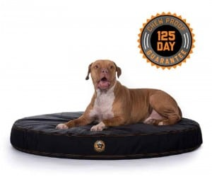 Gorilla ballistic indestructible orthopedic dog bed chew proof guarantee