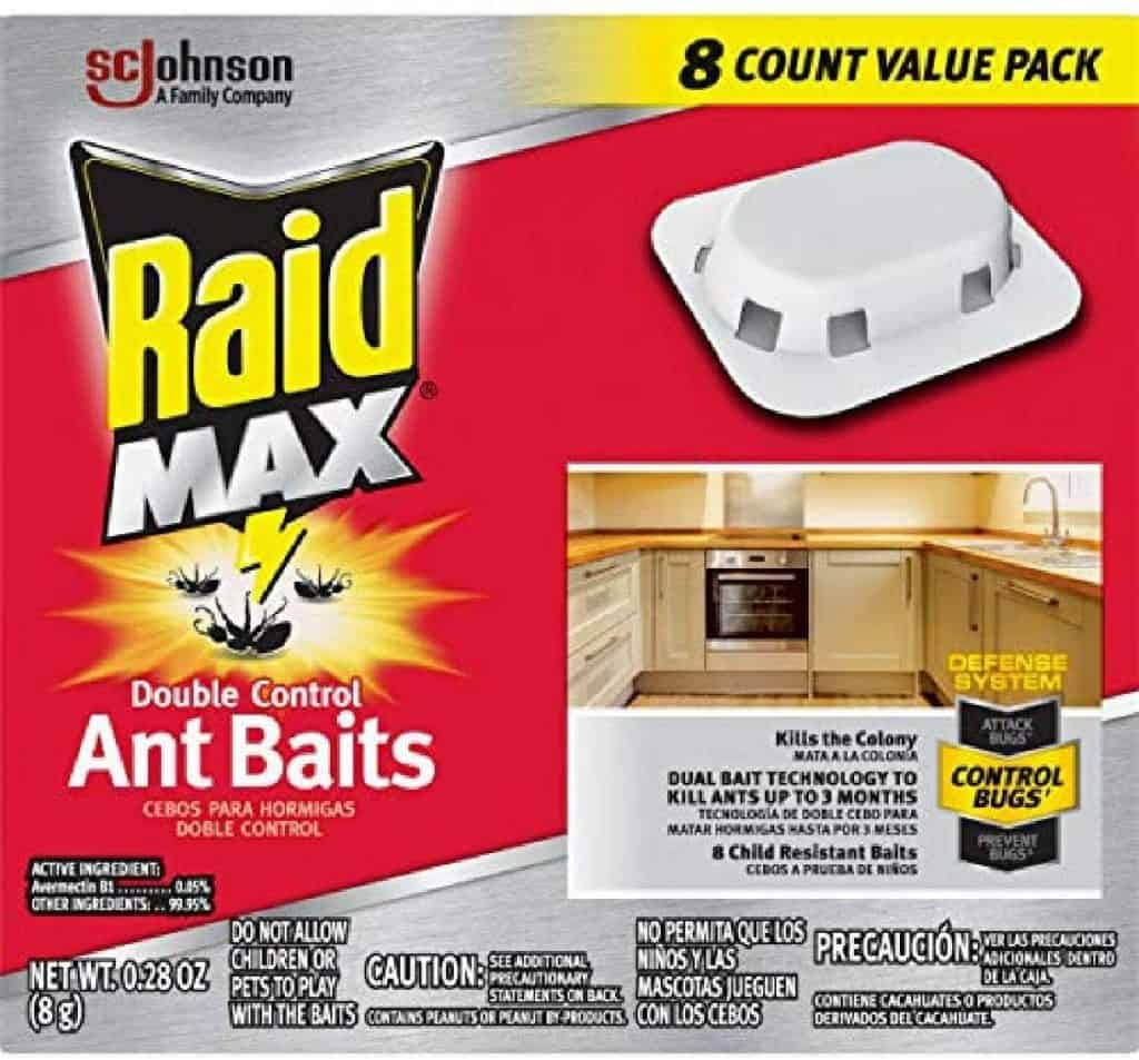My dog ate an ant trap Raid Max double control ant bait