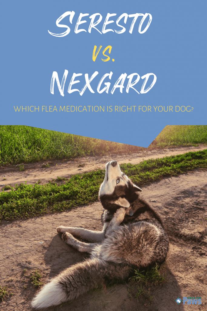 Seresto Collar vs Nexgard Chewables Flea Medication for Dogs - Pinterest