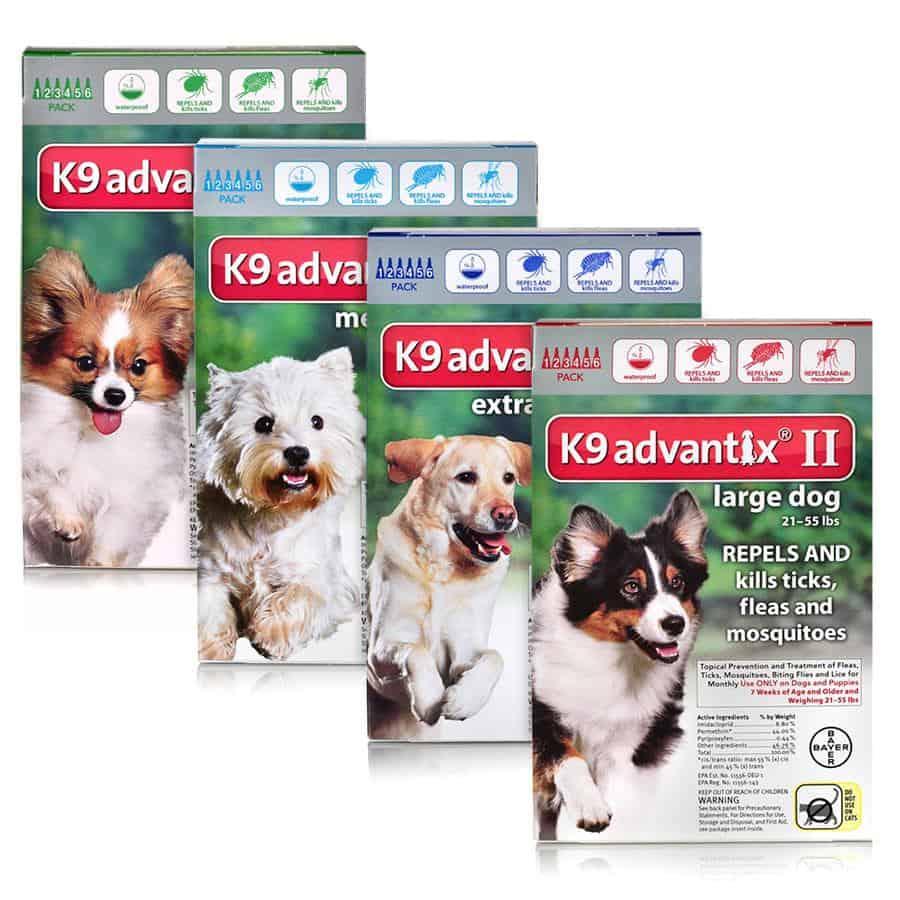 Best Bayer flea medication product K9 Advantix most effective widest range parasites