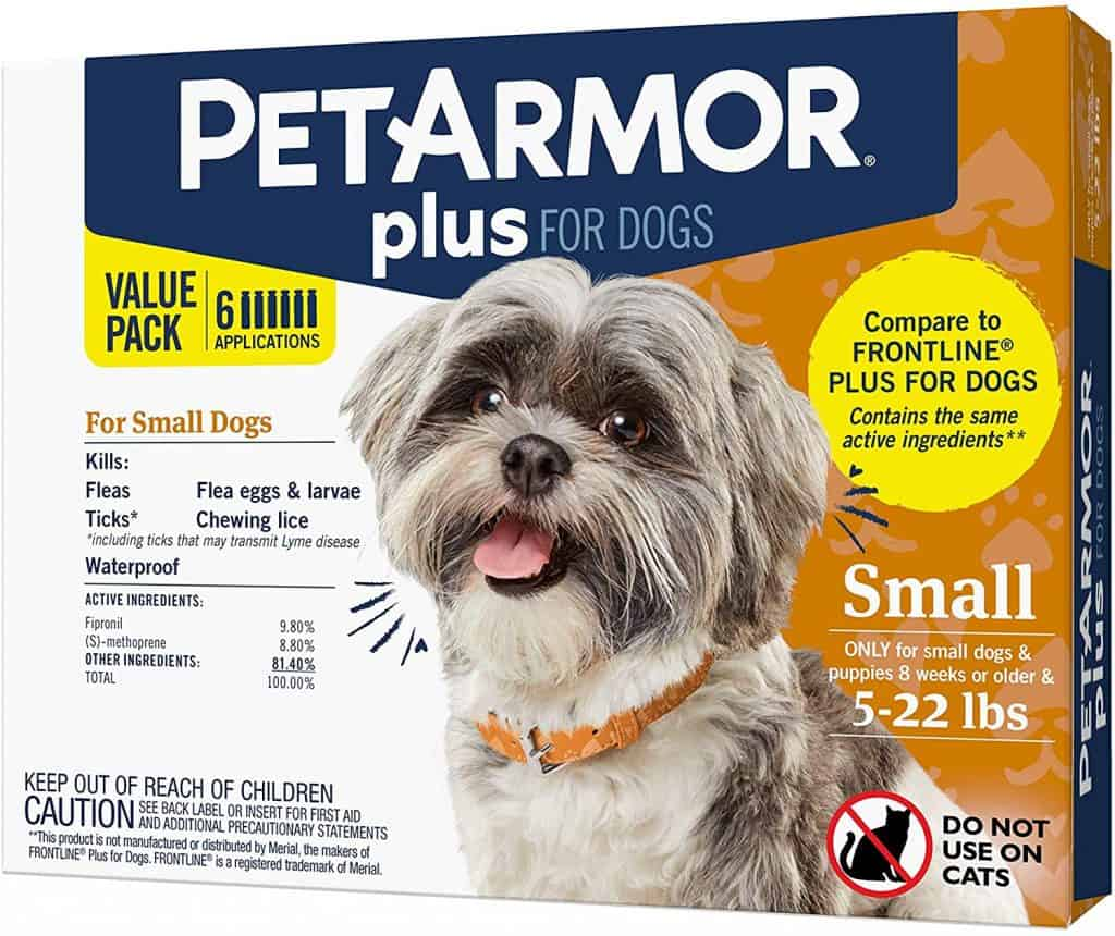 PetArmor Plus generic flea medication alternative to Frontline Plus