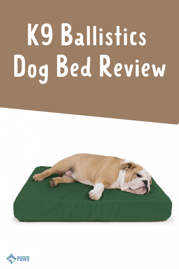 K9 Ballistics Tough Orthopedic Dog Bed Review Pinterest