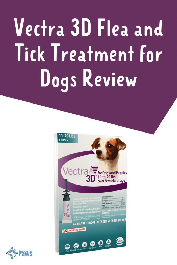 Vectra 3D Flea and Tick Treatment for Dogs Review Pinterest