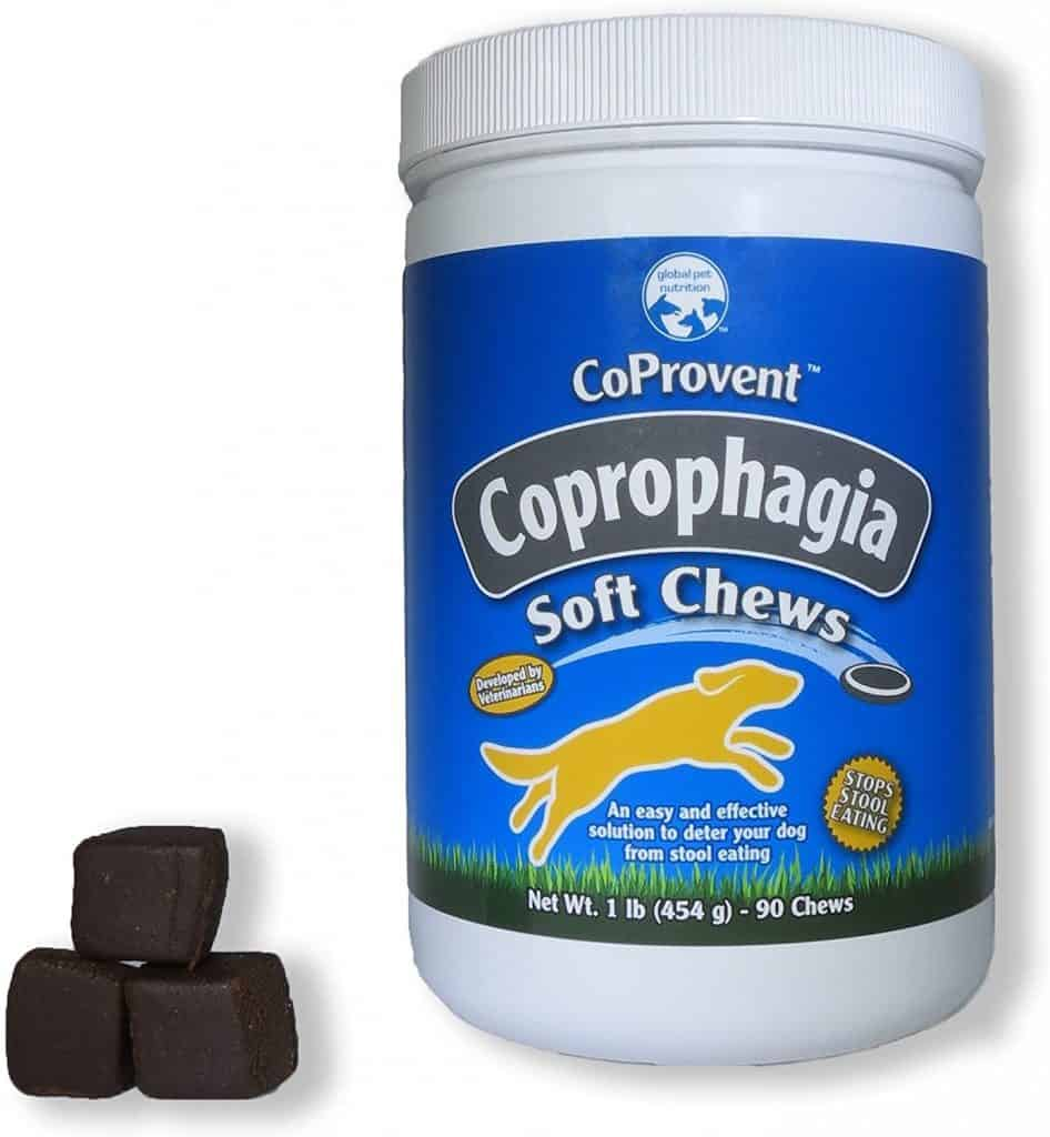 CoProvent Coprophagia Soft Chews deters stool eating
