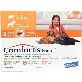 Comfortis vs NexGard best flea control medication for dogs