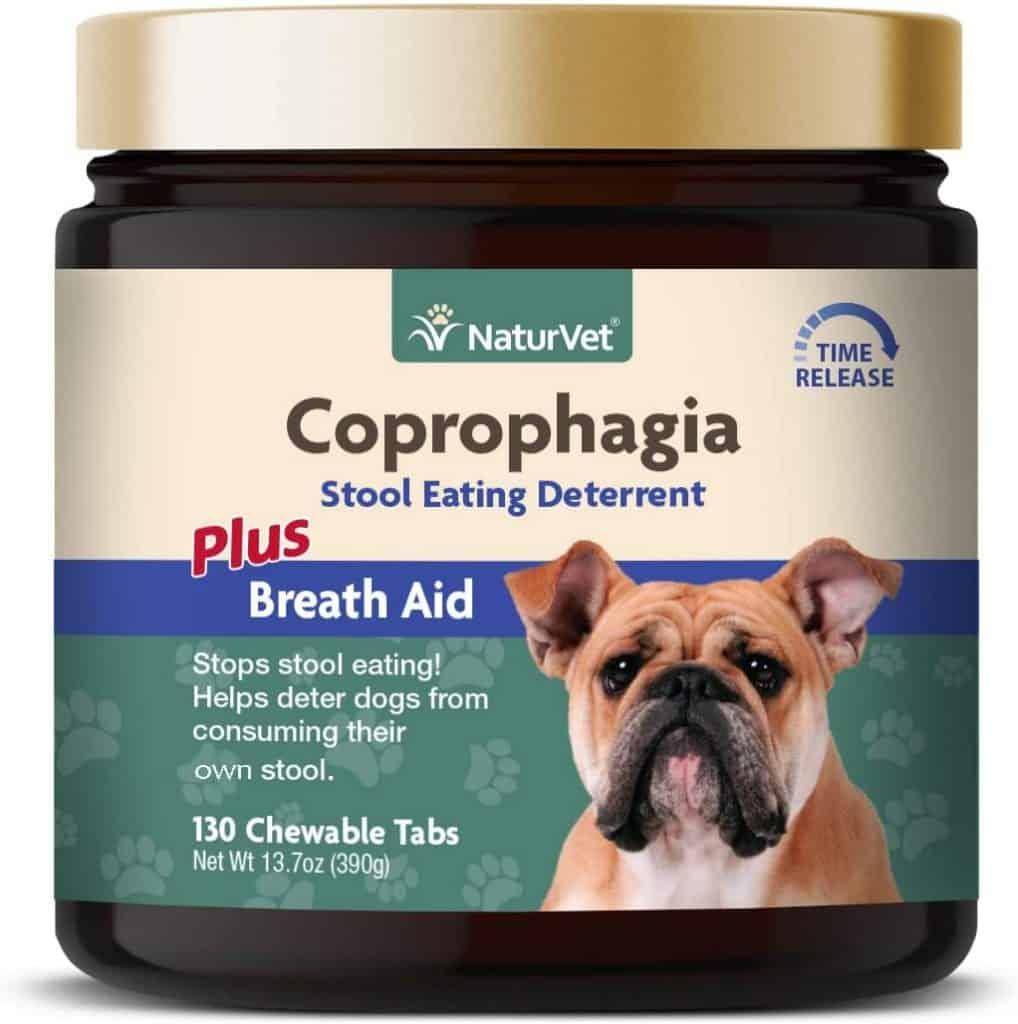 NaturVet Hypollergenic Coprophagia Stops Stool Eating Breath Aid