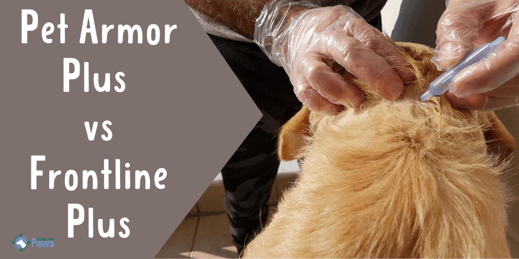 Pet Armor Plus vs Frontline Plus Flea Treatment for Dogs
