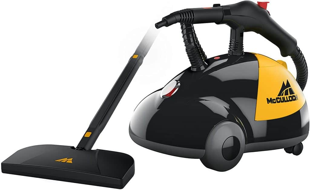 McCulloch MC1275 steam cleaner kills fleas in the home without chemicals