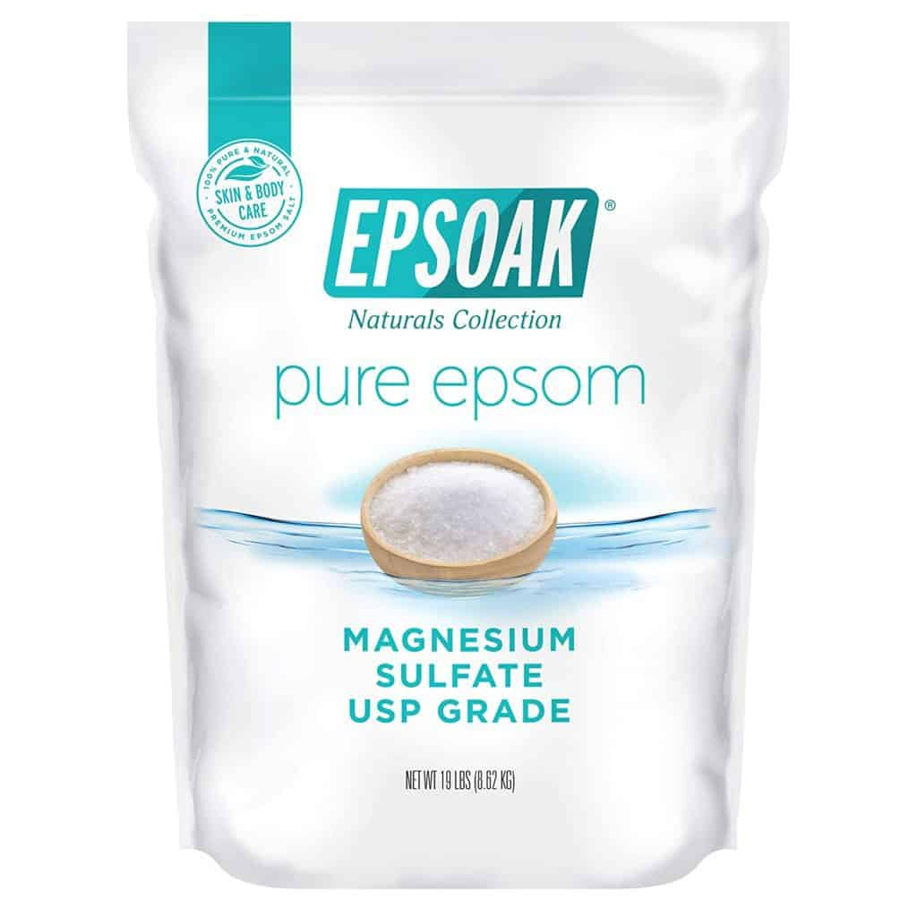 Does Epsom salt kill fleas magnesium sodium parasite control on dogs