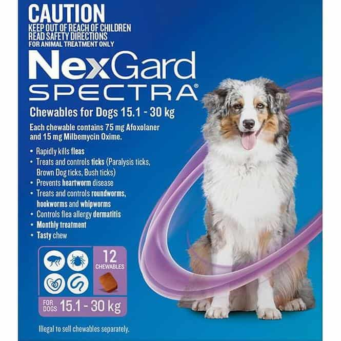 NexGard Spectra review flea tick mite heartworm protection all in one