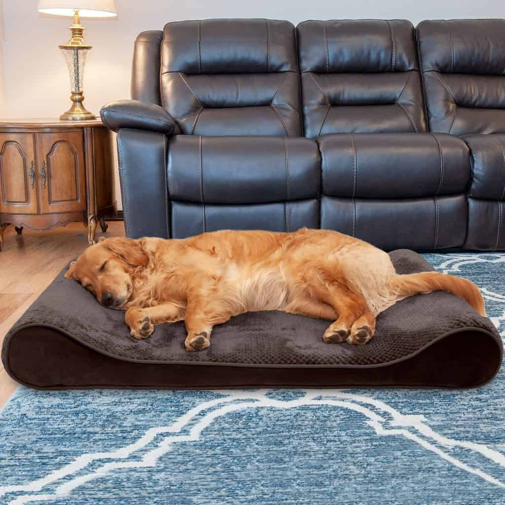FurHaven Luxe Lounger perfect dog bed for arthritic canines