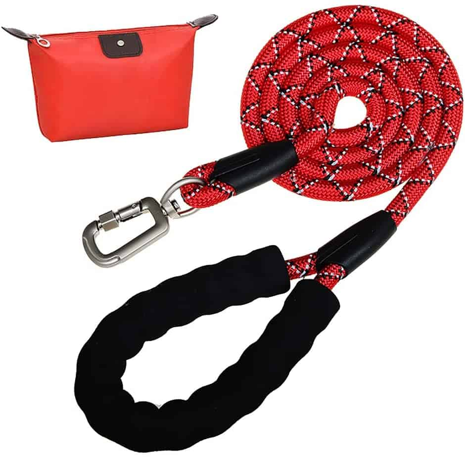 N C Most comfortable heavy duty dog leash large medium dogs reflective